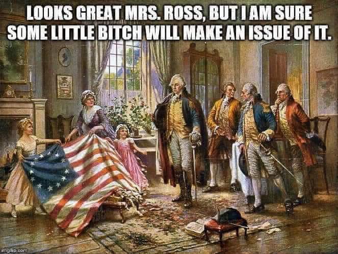 Memes Mock Nike & Kaepernick Over Betsy Ross Flag Pullout