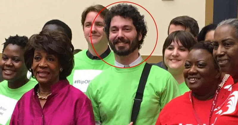 Flashback: Maxine Waters Pictured With Antifa Leader Arrested for Beating 2 Marines