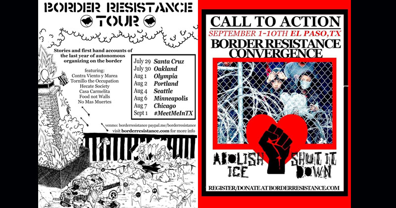 Antifa Flyers Show ICE Agents Killed With Crossbows, Firebombs In Siege on Souther Border