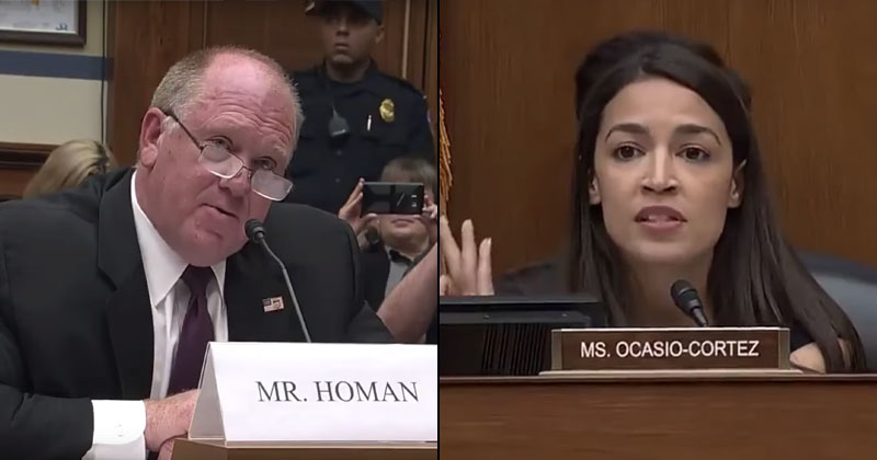WATCH: Former ICE Chief Clashes With AOC Over Trump's Illegal Migrant Policy