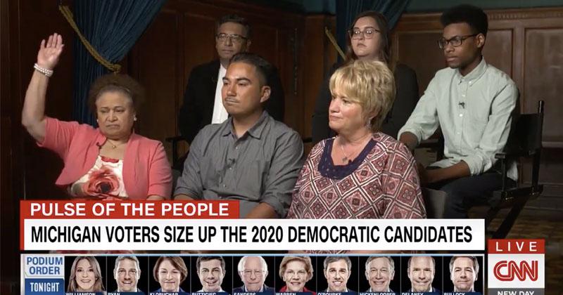 CNN Asks Dem Focus Group If Optimistic About 2020 -- Only 1 Raises Hand!