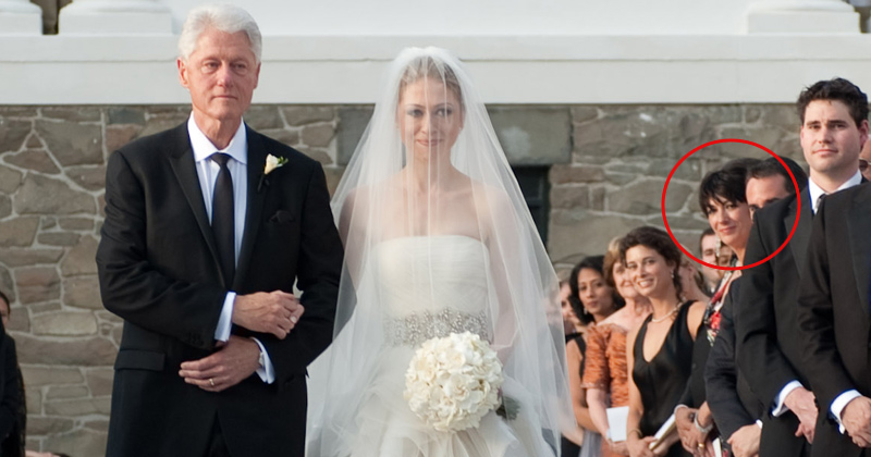 Photo: Jeffrey Epstein's Alleged Pimp Attends Chelsea Clinton Wedding