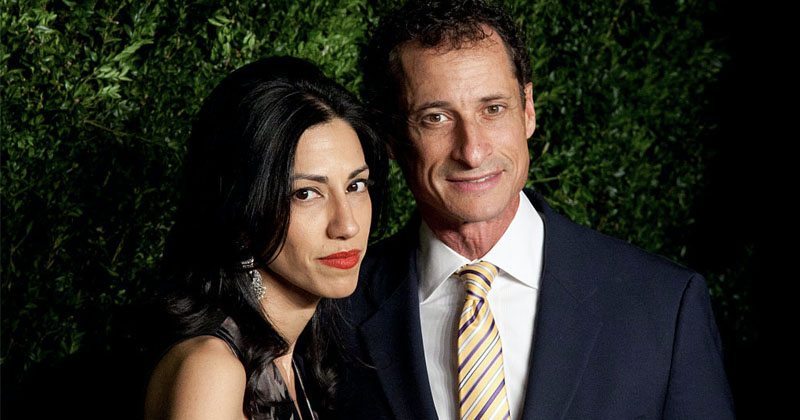 Hillary Aide Huma Abedin Reunites With Convicted Pedophile Anthony Weiner