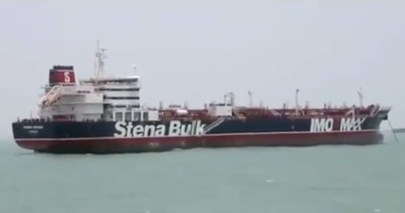 Iran Releases First Footage Of Seized Oil Tanker