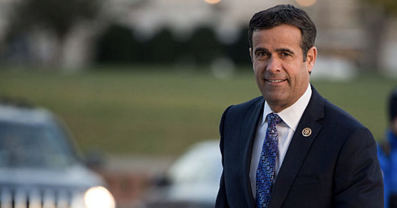 Deep State Swamp In Total Panic Over Trump Pick John Ratcliffe As Intel Chief