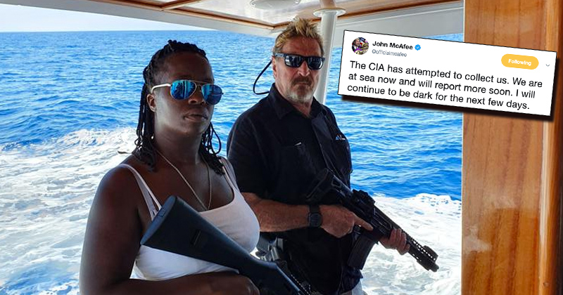 Update: John McAfee Detained Days After Warning CIA Hunting Him
