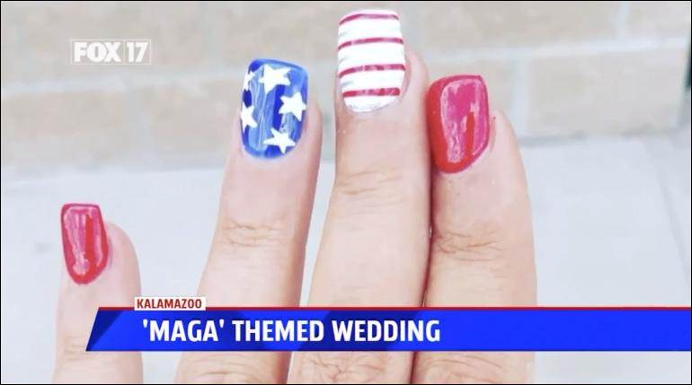 nails-maga235 DAD DITCHES SON'S PATRIOTIC MAGA-THEMED WEDDING [your]NEWS