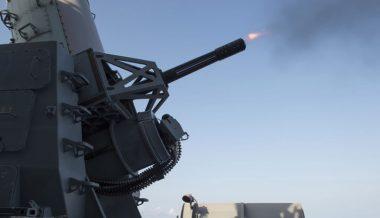 US Navy Shoots Down Iranian Drone in Strait of Hormuz – Trump