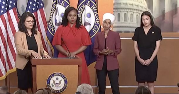 Watch Live: Democrat Jihad Squad Refuses To Denounce Left Wing Terrorism