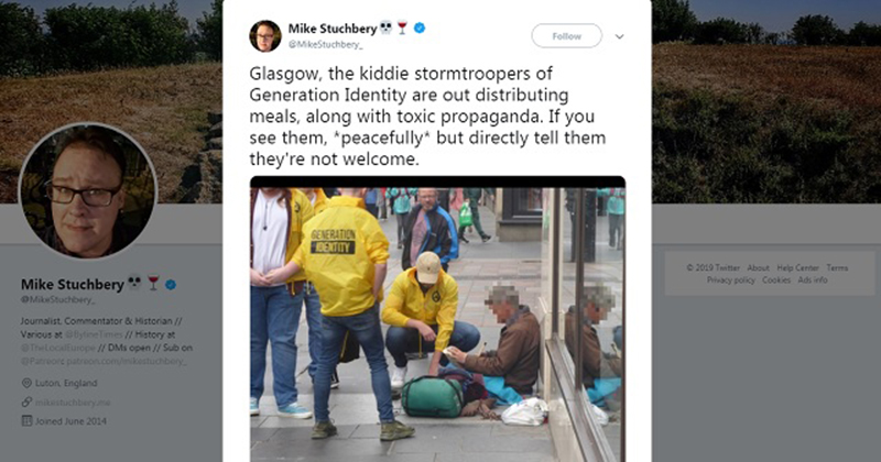 Journo Warns 'Toxic' Right-Wing Group Is Out Feeding The Homeless: 'Tell Them They're Not Welcome'