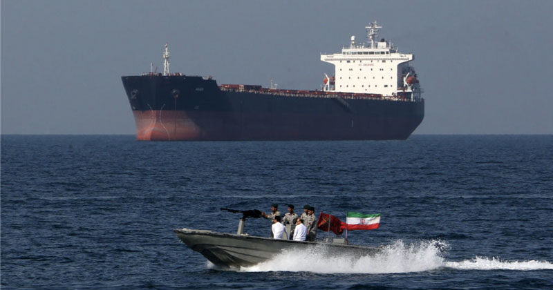 Iran Eyes 'Toll' On All Ships Passing Through Strait of Hormuz