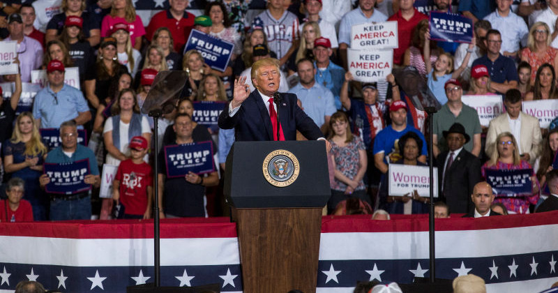 Watch Live: Trump Disavows 'Send Her Back' Chant, Upsetting His Base