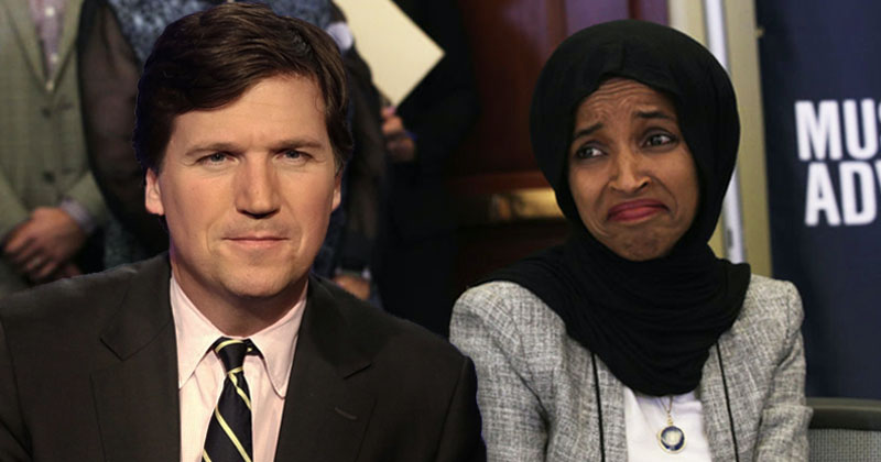 Ilhan Omar Calls For Ad Boycott of Tucker Carlson Over 'White Supremacist Rhetoric'