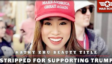 Watch: Kathy Zhu Has Beauty Title Stripped Away For Supporting Trump