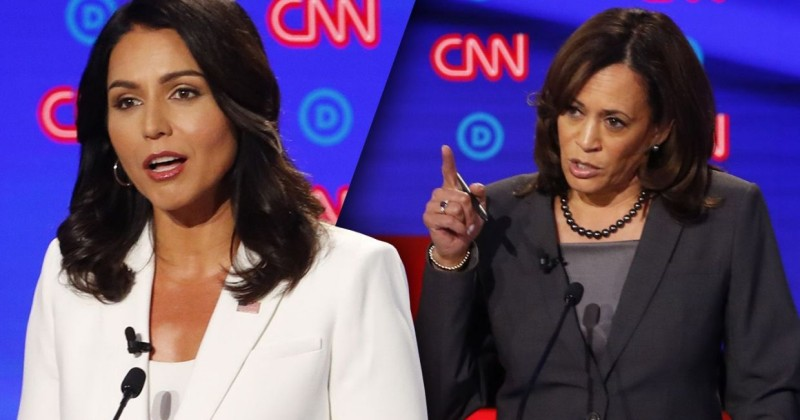 Idiots Think Tulsi Gabbard Was Hired by 'Russia' to Bring Down Kamala Harris
