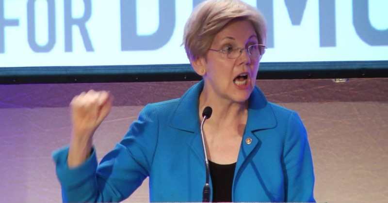 Watch: Elizabeth Warren Wants To Put Men In Women's Prisons