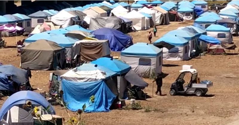 Video: Homeless Camp, Pop. 500, Patrolled by Private Security in California