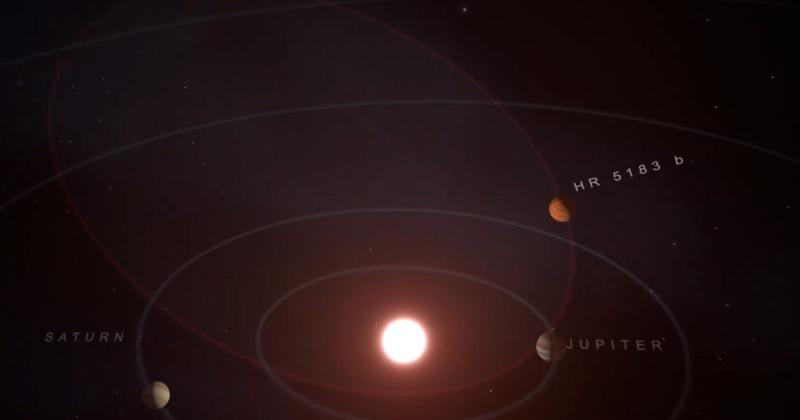 Planet 3X Size of Jupiter Slingshots Around Star