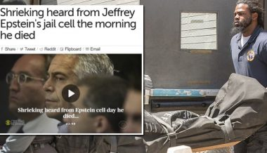 Shrieking and Shouting Heard From Epstein's Cell the Morning He Died