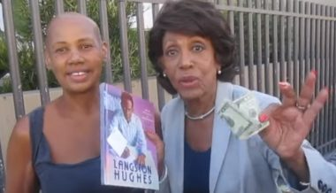 Maxine Waters Asks For Money Back From Homeless Woman on Skid Row