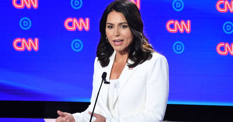 Rigged? Tulsi Gabbard Only Candidate Not Trending On Twitter