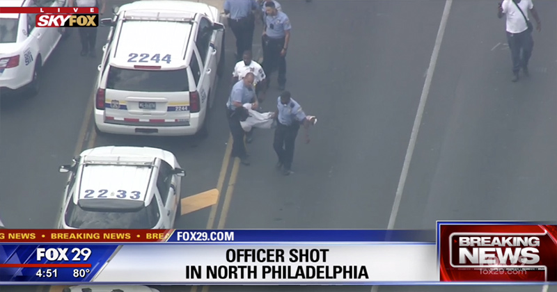 Breaking: 5 Officers Wounded in Philadelphia Shootout