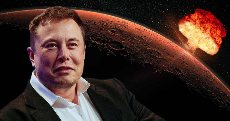 WTF? 'Supervillain' Elon Musk Wants To 'Nuke Mars'