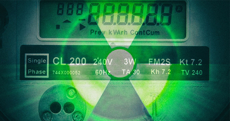 Smart Meter Radiation Attached To Millions Of Homes