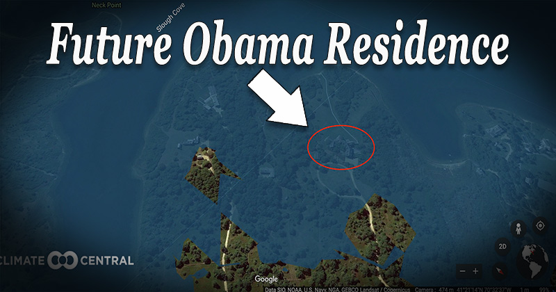 Obama's New Mansion Could Soon Be Underwater - Obama Admin Research