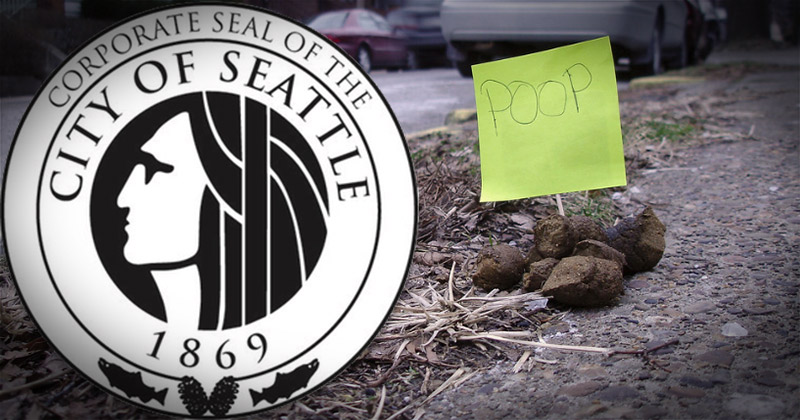 Seattle Can't Clean Human Crap Off Sidewalks Because Dem Councilman Says Hoses Are Racist
