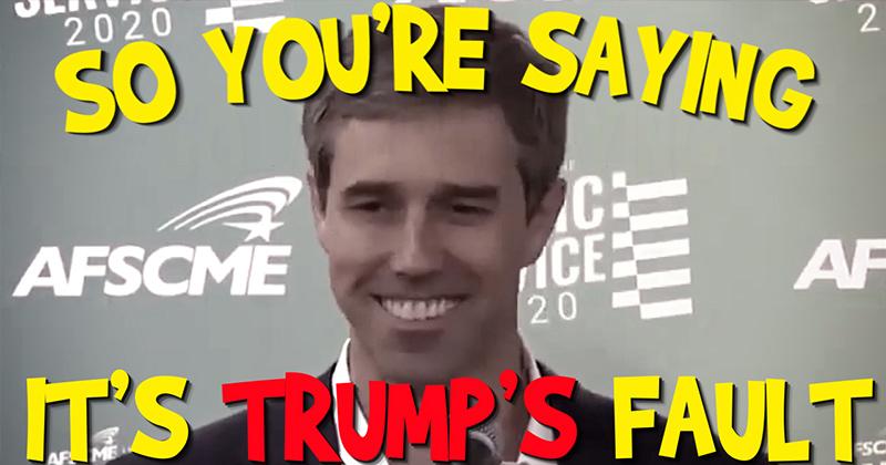 Shameless! DEMS Blame Trump for Shootings