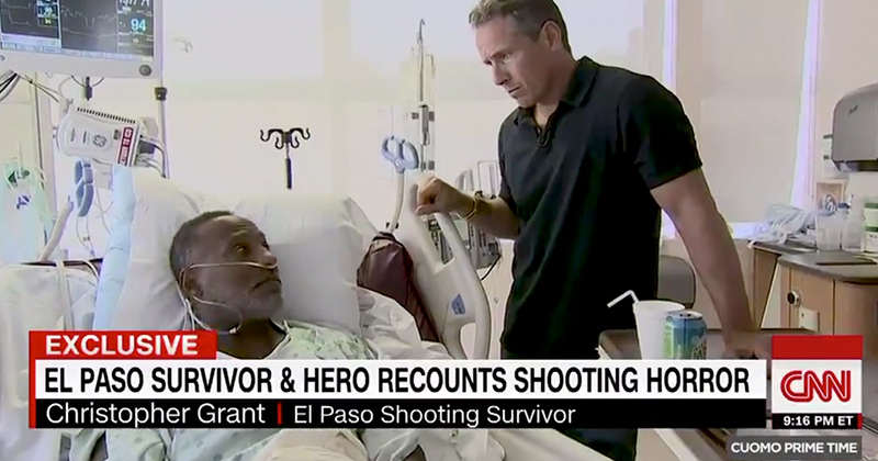 """El Paso Shooting Victim Wishes His """"Gun-Wielding"""" Mom Brought Her .38 Special"""