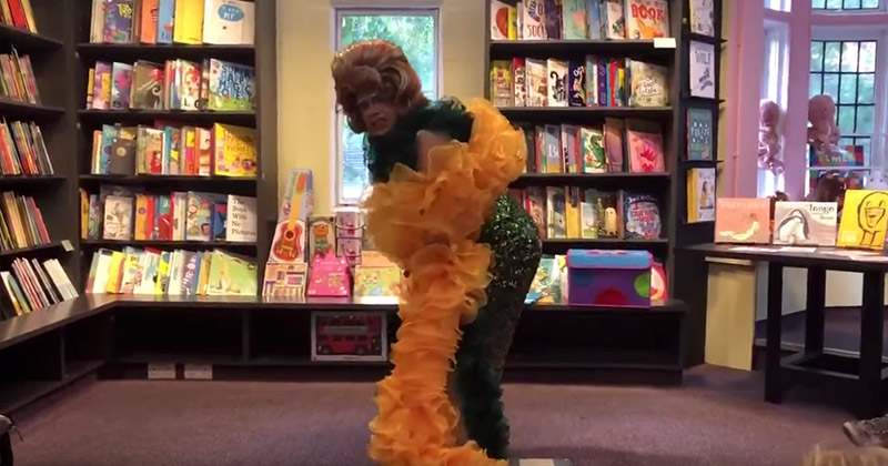 Creepy Video: Kids Learn To Twerk at Drag Queen Story Hour