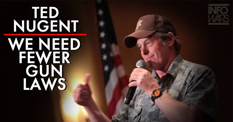Ted Nugent Says We Need To Trust President Trump On The Second Amendment