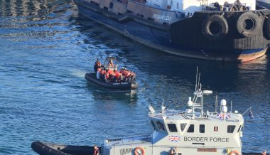 UK Intercepts Five Boats Carrying Migrants Across English Channel