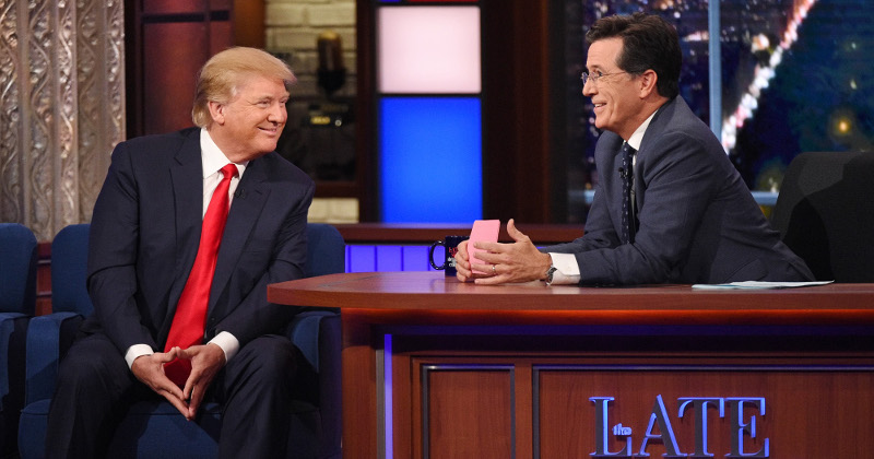 Anti-Trump Late-Night Host Bizarrely Claims He Isn't Part of the 'Resistance'