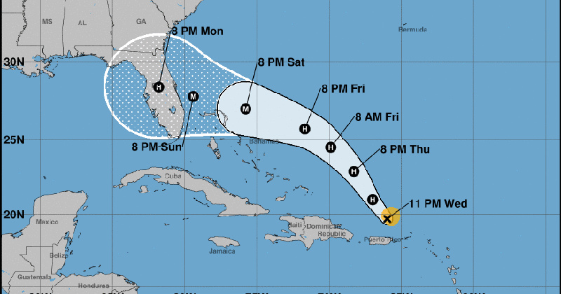 Hurricane Dorian Takes Aim at Florida