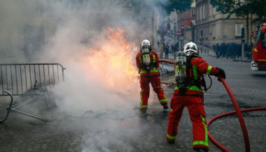 Attacks on French Firefighters Surging
