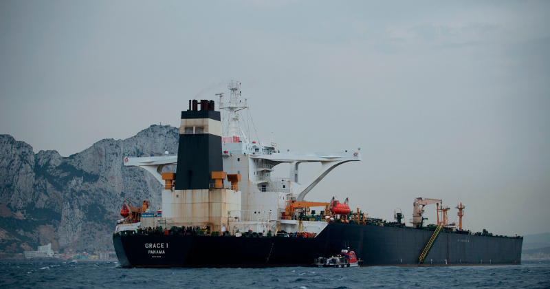 US Has Applied to Seize Iranian Oil Tanker Held in Gibraltar - Report