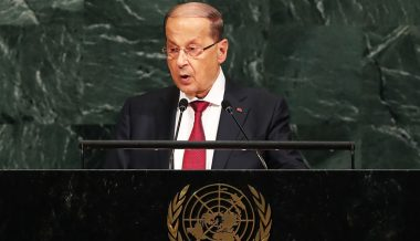 Lebanon President Calls Suspected Israeli Attacks
