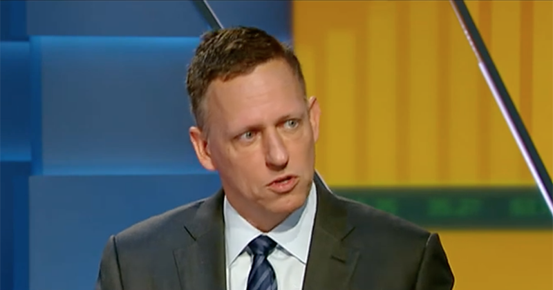 Thiel: 'Globalist' Google Is In Bed With Chinese Military; Must Be Investigated By FBI and CIA