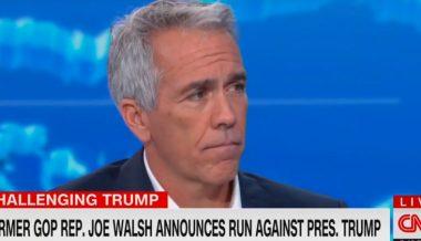 Anti-Trump Republican Joe Walsh Joins 2020 Race