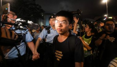 Police Rounding Up Hong Kong Activists