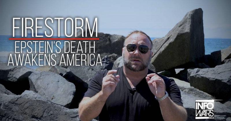 FIRESTORM! Epstein's Death Awakens America