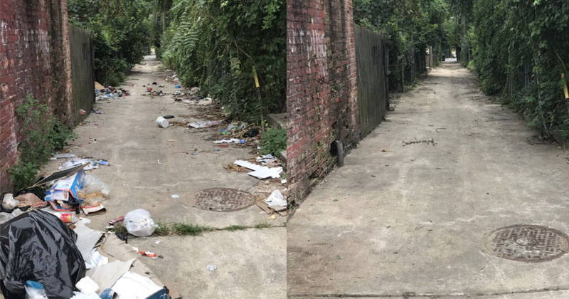 Unity: Conservative Volunteers Clean Up Baltimore Neighborhood