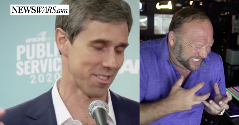 Report: BETO O'Rourke Laughs About El Paso Deaths