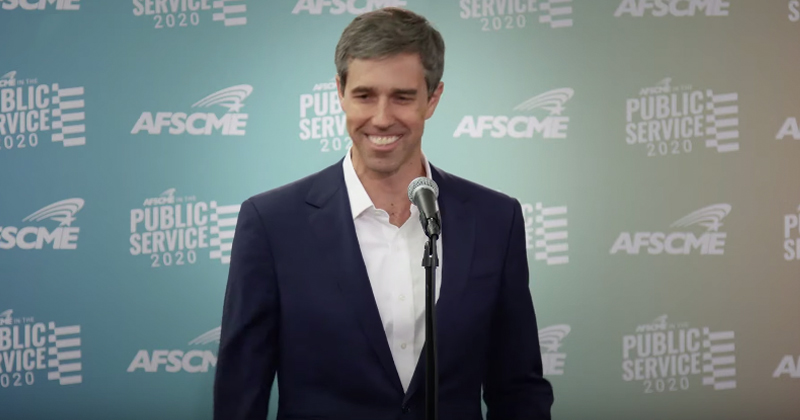 Bizarre: Beto O'Rourke Appears to Laugh While Discussing El Paso Shooting