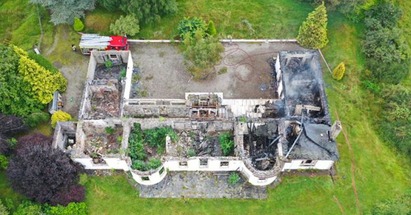 New Fire in Crowley's 'Boleskine' Exposes Plan By O.T.O. and British Intelligence to Establish the Ultimate Satanic Temple in Scotland