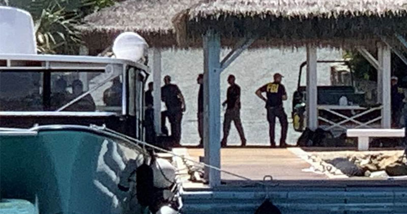 Dozens Of FBI Agents Raid Epstein's 'Pedophile Island' After Billionaire's Suspicious Death