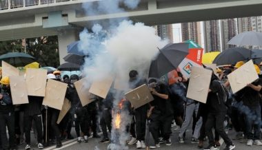 Exclusive Video: Paul Joseph Watson Inside Bloody Hong Kong Clashes